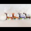 Yamuna fürdőbomba, narancs-fahéjas, 95g