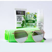 Greeny selyem-citromfű-mojito kozmetikai csomag