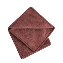 Vixi kozmetikai törlőkendő, sötétbarna, 25x25cm
