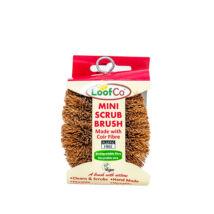 LoofCo mini súroló kefe - kókusz dörzsi