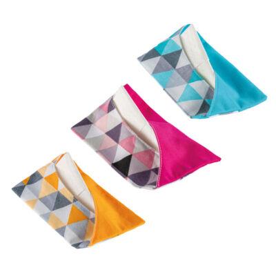 Greeny textil zsebkendőtartó - Válassz mintát!