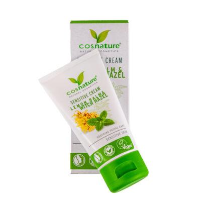 Cosnature arckrém, sensitive, citromfű és varázsmogyoró, 50ml