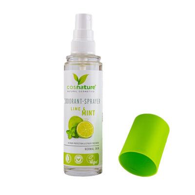 Cosnature dezodor spray, lime és mentol, 75ml