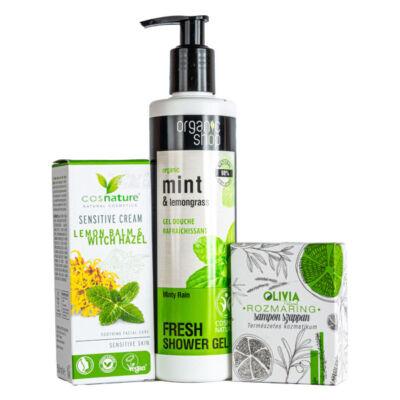 Greeny citromfű-rozmaring kozmetikai csomag