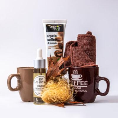 Greeny kávé-botanikus kert kozmetikai csomag