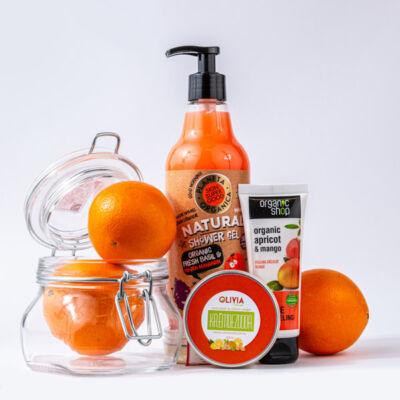 Greeny mandarin-mangó kozmetikai csomag