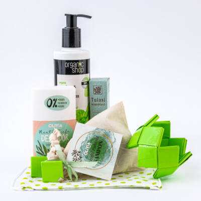 Greeny menta és teafa kozmetikai csomag