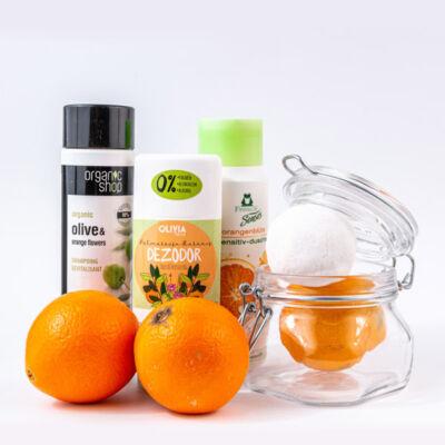 Greeny narancs kozmetikai csomag