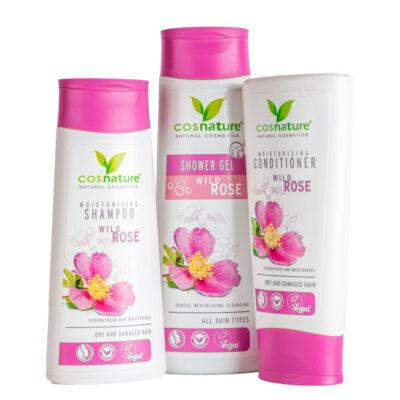 Greeny vadrózsa fürdőkozmetikai csomag