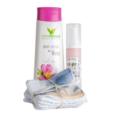 Greeny rózsa kozmetikai csomag