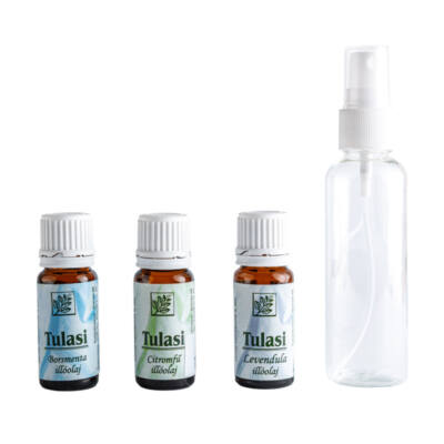 Szúnyogriasztó spray házilag 2. (citromfű, borsmenta és levendula)