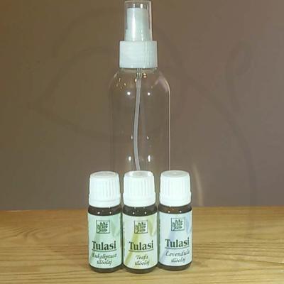Szúnyogriasztó spray házilag 3. (eukaliptusz, teafa és levendula)
