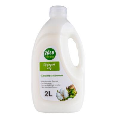 Zöld Érzés öblítő, gyapot tej, 2l