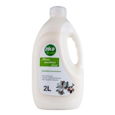 Zöld Érzés öblítő, mézes mandula illat, 2l
