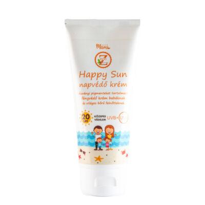 Happy Sun napvédő krém, SPF20, 100ml