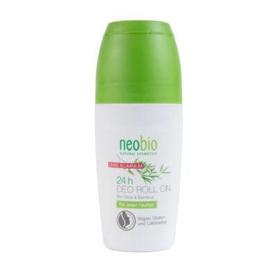 Neobio 24 órás golyós dezodor bio olíva-és bambusz