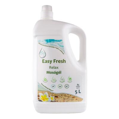 Easy Fresh - Nanofresh mosógél, Relax színmentes, hipoallergén illattal, 5l