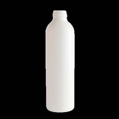 Hengeres flakon, fehér, 24/410, 250ml