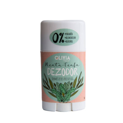 Olivia Natural deostift, menta-teafa, 50ml