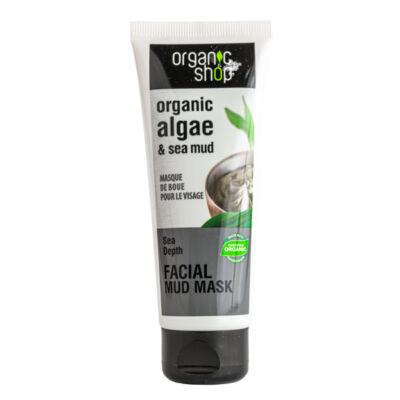 Organic Shop arcpakolás, tápláló, bio alga és iszap, 75ml