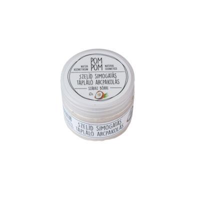 Pompom szelíd simogatás tápláló arcpakolás, 65g