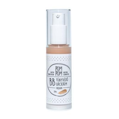 Pompom BB fényvédő arckrém, medium, 30ml
