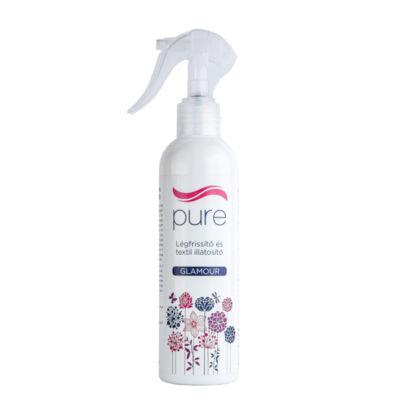 Pure légfrissítő és textil illatosító, Glamour, 250ml
