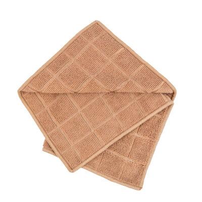 Vixi konyhai törlőkendő, tejeskávé, 30x30cm