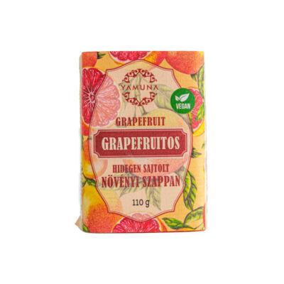Yamuna hidegen sajtolt növényi szappan, grapefruit, 110g