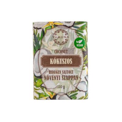 Yamuna hidegen sajtolt növényi szappan, kókusz, 110g