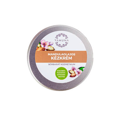 Yamuna kézkrém, mandulaolajos, 50ml